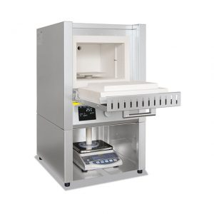 Muffle Furnace Nabertherm Weighing Scale