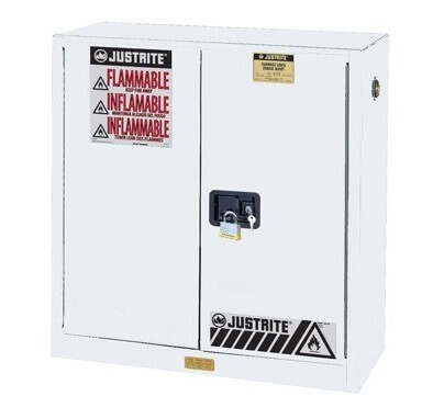 Jual Safety Cabinet Flammables Justrite White