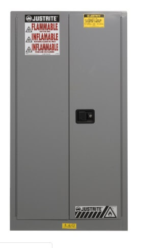 Jual Safety Cabinet Flammables Justrite Gray