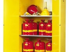 Jual Safety Cabinet Flammables Justrite Yellow